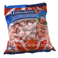 COLOMBINA SUPER MINT BALLS 120CT