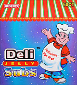 Alberts Deli Jelly Subs 60ct.