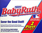 Baby Ruth - King Size 18CT Box