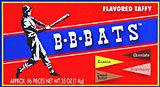 B.B. Bats Assorted Taffy 100ct