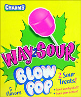Charms Blow Pop Way2Sour 48CT
