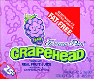 Grapehead 24 - 1.25oz packages