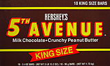 Hersheys 5th Avenue - King Size 18CT Box