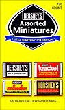 Hersheys Assorted Miniatures - 120 CT.