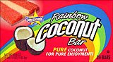 Rainbow Coconut Bar 24CT Box