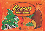 Reeses Peanut Butter Trees 6ct