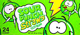Sour Punch Straws Apple 24CT Box