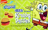 Nickelodeon Spongebob Squarepants Giant Gummi Krabby Patties 36 ct.