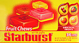 Starburst Original Fruit Chews 36CT Box
