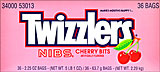 Twizzlers Nibs Cherry Bits 36CT Box