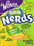 Wonka Nerds Amped Apple -  Lightning Lemon 24CT Box