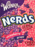 Wonka Nerds Grape - Strawberry 24CT Box
