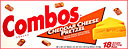 Combos Cheddar Cheese Cracker 18CT Box