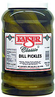 KAISER DILL PICKLES - GALLON