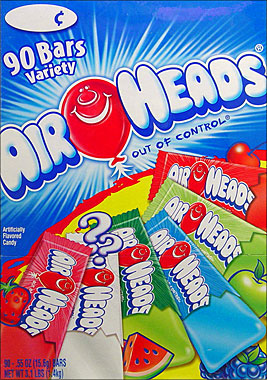Air Heads Variety Pack 90CT.