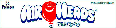 Air Heads White Mystery 36ct.