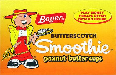 Boyer Butterscotch Smoothie Peanut Butter Cups 24 Count