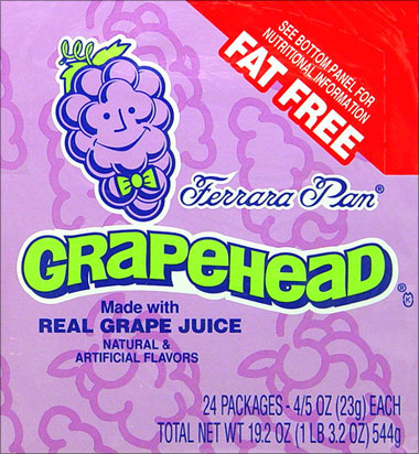 Grapehead 24 - 0.8oz packages