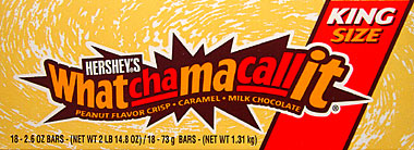 Hersheys Whatchamacallit - King Size 18CT Box