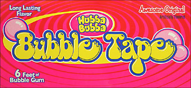 Bubble Tape Awesome Original 24ct Box