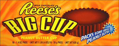 Reeses Cups - Big Cup 16ct box