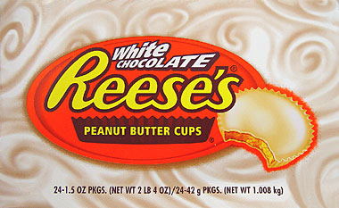 Reeses White Chocolate Peanut Butter Cups 24CT Box