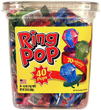 Ring Pop 40CT