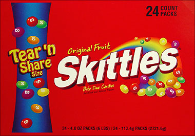 Skittles Original 24CT Box Tearn Share Size