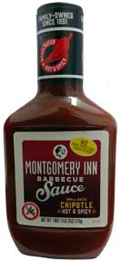 Montgomery Inn Barbecue Sauce Chipotle 18oz