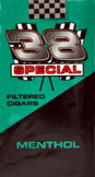 38 Special Little Cigars Menthol 100 Box