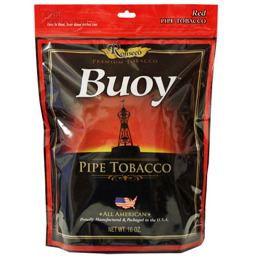 Buoy Full Flavor Red 6oz Pipe Tobacco