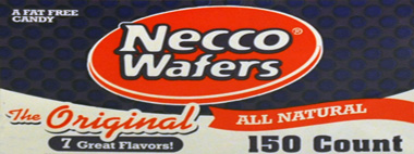 Necco Assorted All Natural Wafers 150CT Tub
