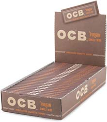 OCB Virgin Single Wide Rolling Papers 24ct