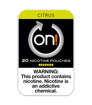 ON Nicotine Pouches Citrus 8mg 5ct