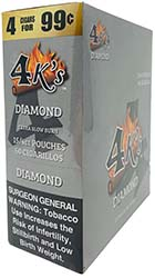 4 Kings Cigarillos Diamond 15ct