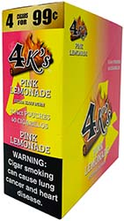 4 Kings Cigarillos Pink Lemonade 15ct