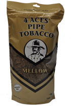 4 Aces Gold Pipe Tobacco 16oz Bag