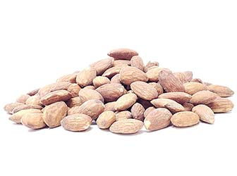 Almonds Roasted Salted 1 Lb