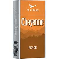 Cheyenne Little Cigars Peach 100 Box