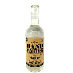 Faber Distilling Co. Liquid Hand Sanitizer 1 Liter
