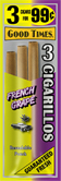 Good Times Cigarillos French Grape 45ct