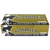 Gambler Light 100 Cigarette Tubes 200ct