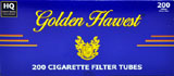 Golden Harvest Light 100 Cigarette Tubes 200ct