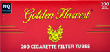 Golden Harvest Full Flavor 100 Cigarette Tubes 200ct
