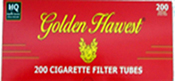 Golden Harvest Full Flavor Cigarette Tubes 200ct