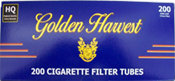 Golden Harvest Light Cigarette Tubes 200ct