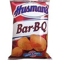 Husmans BBQ Potato Chips (42 1oz Bags)