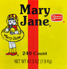 Necco Mary Jane Candy Chews 240CT Tub