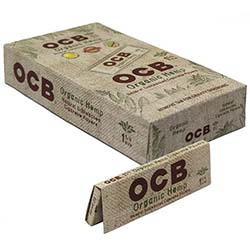 OCB Organic Hemp 1.25 Rolling Papers 24ct