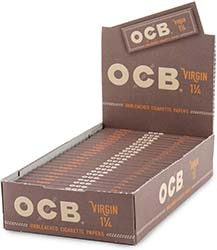OCB Virgin 1.25 Rolling Papers 24ct